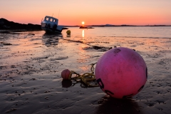 Bouy-and-Boat-Sunset