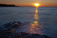 Penmon-Pebble-Beach-Sunset