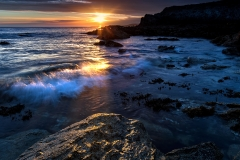 Porth-Y-Post-Sunset-Rock