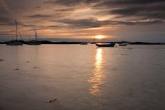 Rhosneigr-Boats-Sunset-1