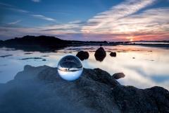 Sunset-sea-crystal