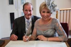 025 - Janet & Pete Signing