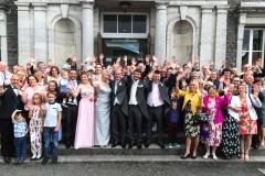 030 - Wedding Party Waving