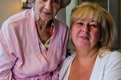 Elizabeth and Mama