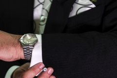 Michael Suit Cufflink Watch