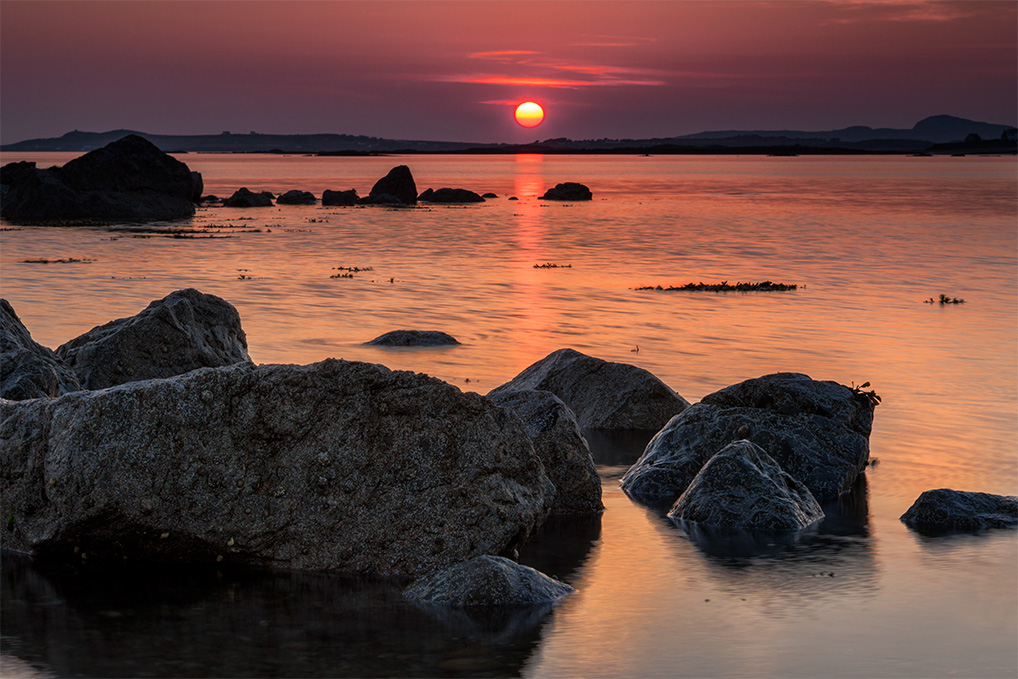 Sunset-Rocks