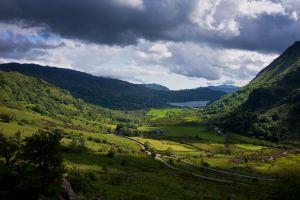 Llyn Gwynant Lake Road
