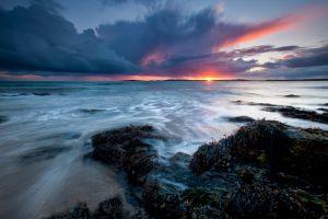 Rhosneigr Storm Sunburst