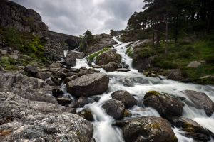 Waterfall off Llyn Ogwen