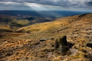 Bleaklow Glossop View