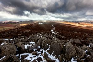 Carl Wark - Winter Walk