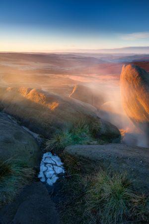 Higger Tor Sunrise Mist