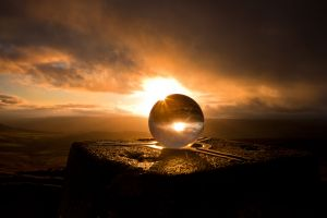 Stanage Sunset Sphere