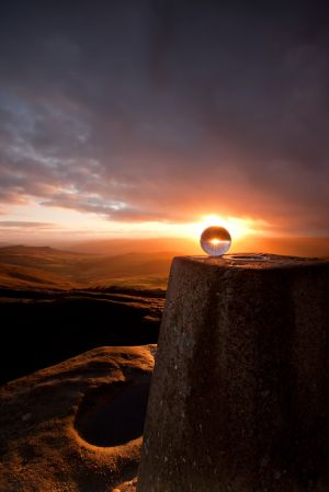 Stanage Sunset Sphere 2