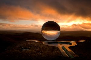 Stanage Sunset Sphere 3