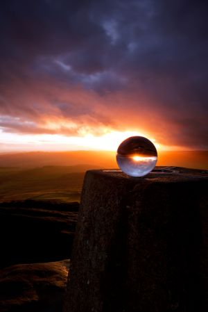 Stanage Sunset Sphere 5