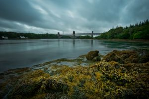 Britannia Bridge Storm