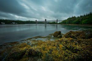 Britannia Bridge Storm