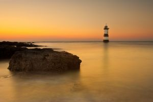 Penmon Lighthouse Sunset