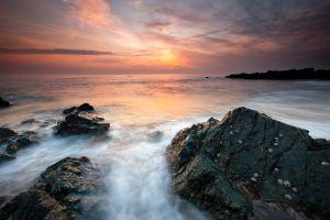 Rhosneigr Cool Sunset