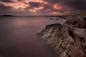 Rhosneigr Purple Sunset