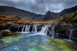 Isle of Skye - Fairy Pool - Another View