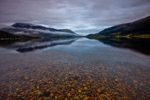 Glencoe Loch Leven Reflections