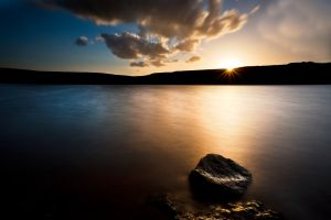 Winscar Reservoir Sunset