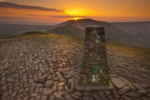 Mam Tor Sunset