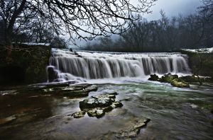 Monsal Waterfall